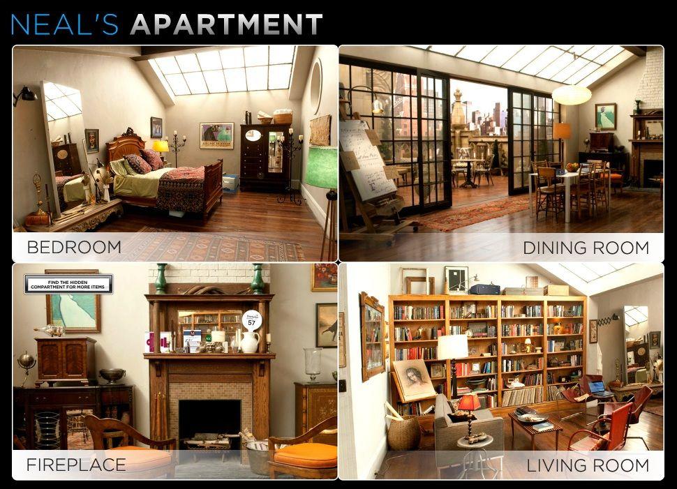 White Collar Neal S Apartment