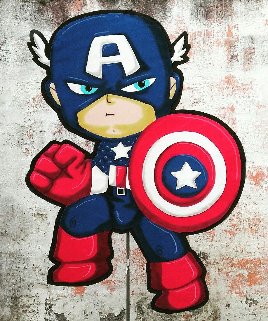 Capitán América baby afiche   Afiches en fomy   Pinterest   Fomy ...
