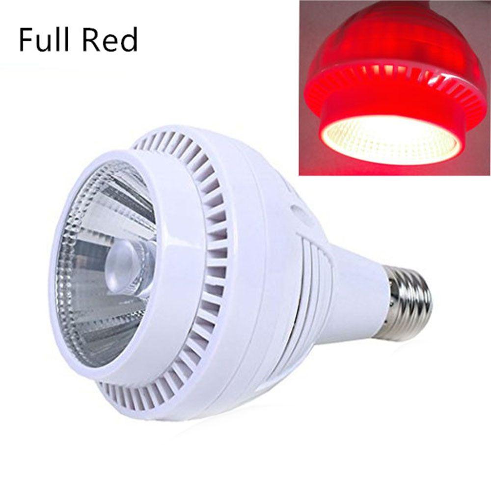 All Red LED Grow Light COB Grow LED Light E27 Hydro Grow