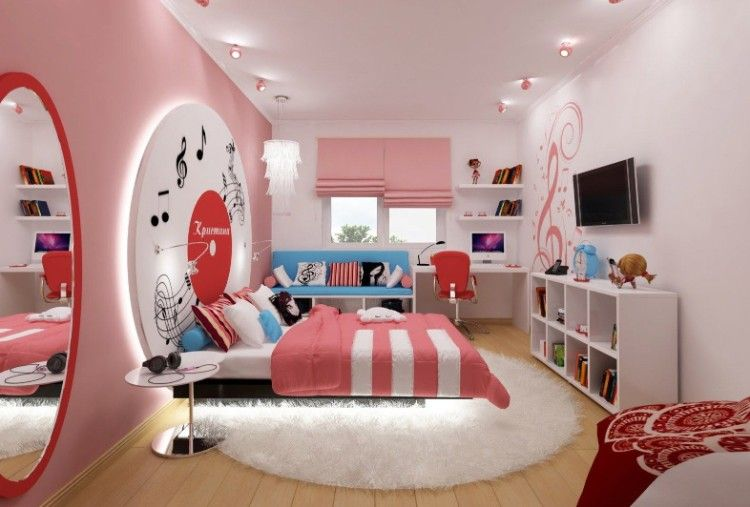 Die besten Ideen in Teenager Schlafzimmer Bilder moderne ...