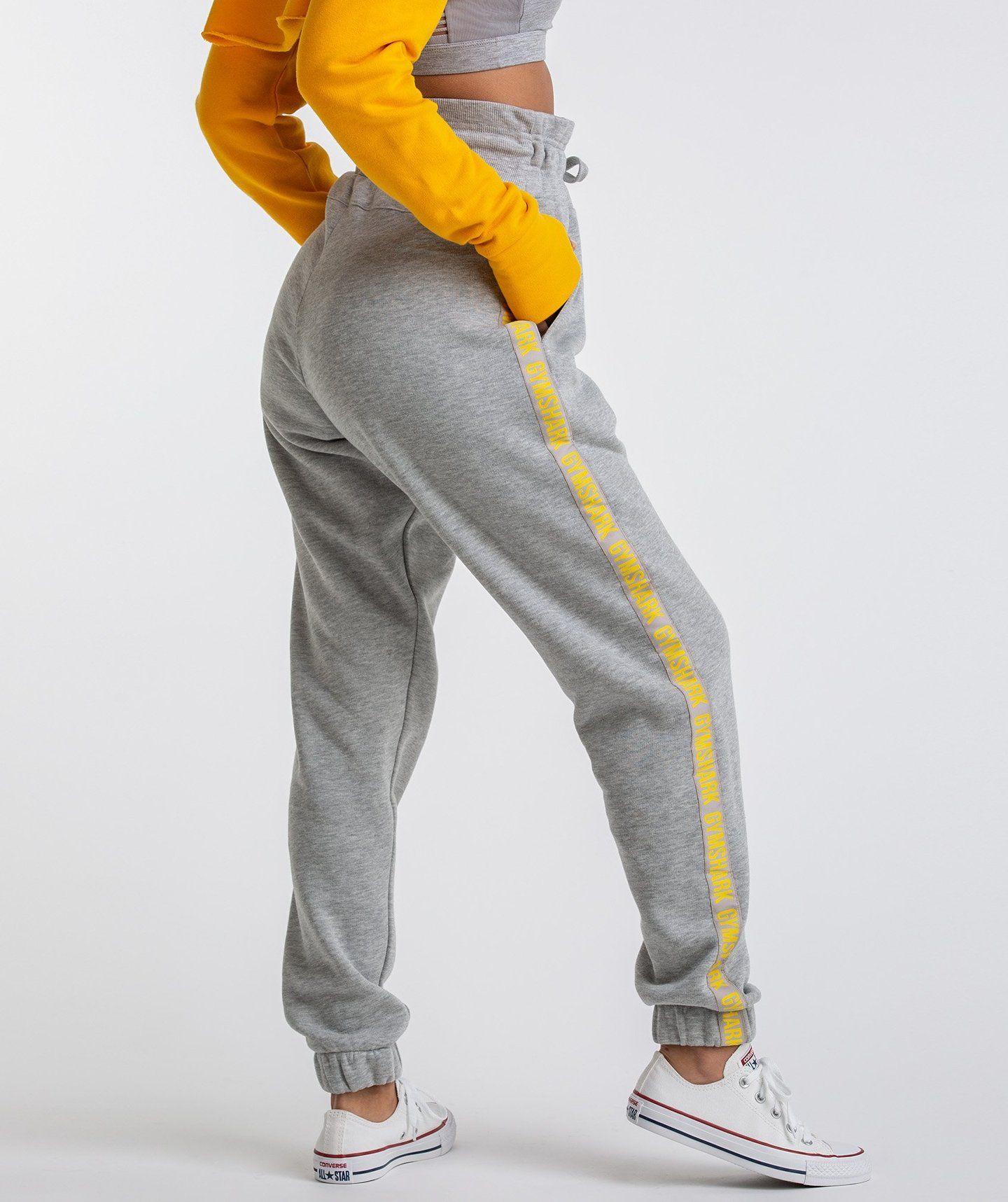 a7aae4641d Gymshark Oversized Joggers - Light Grey Marl 1. Gymshark Oversized Joggers  - Light Grey Marl 1 Workout Pants ...