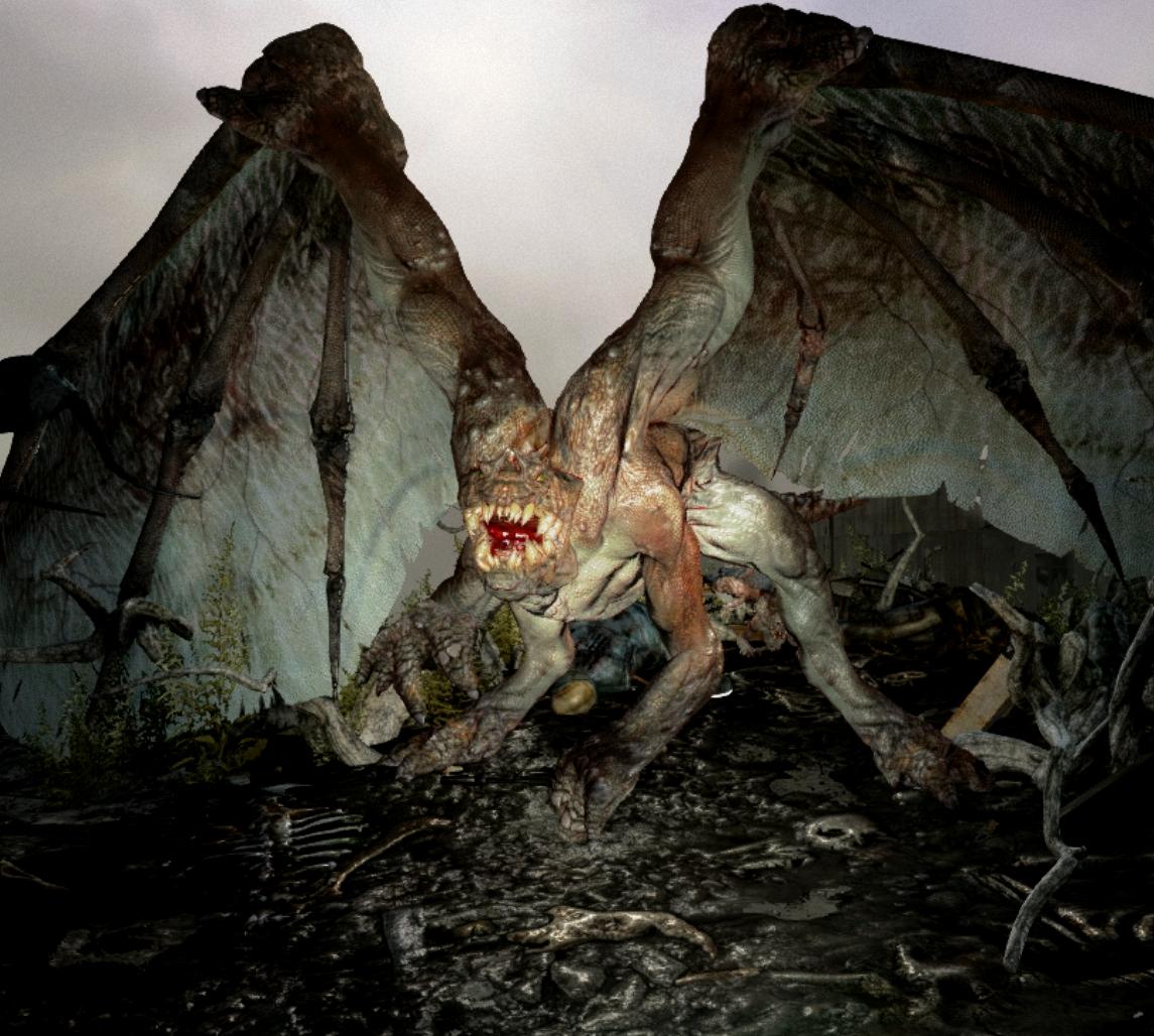 Metro last light demon - Organisch | Metro last light, Demon