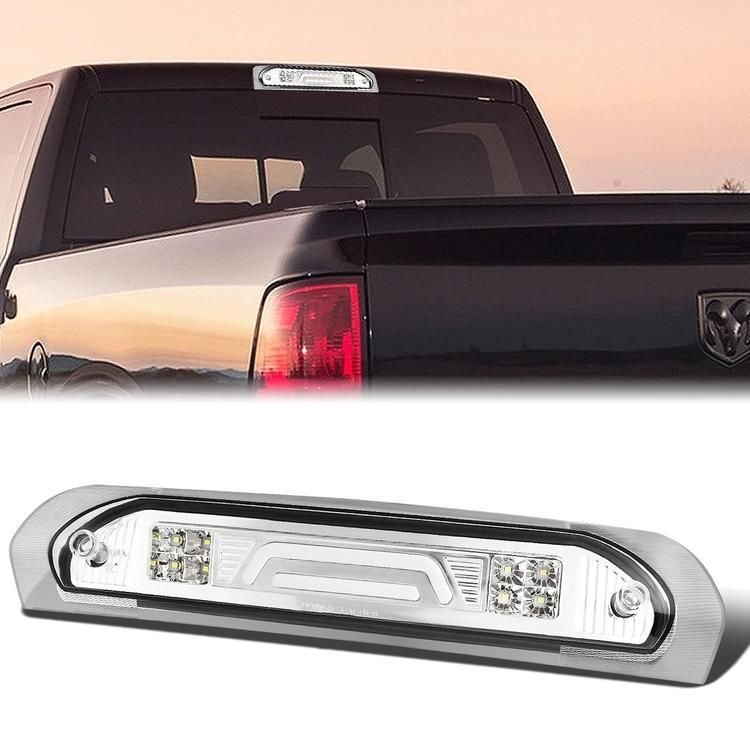 02 09 Dodge Ram 1500 2500 3500 Led Bar Third 3rd Tail Brake Light Cargo Lamp Clear Lens Dodge Ram 1500 Dodge Ram Ram 1500