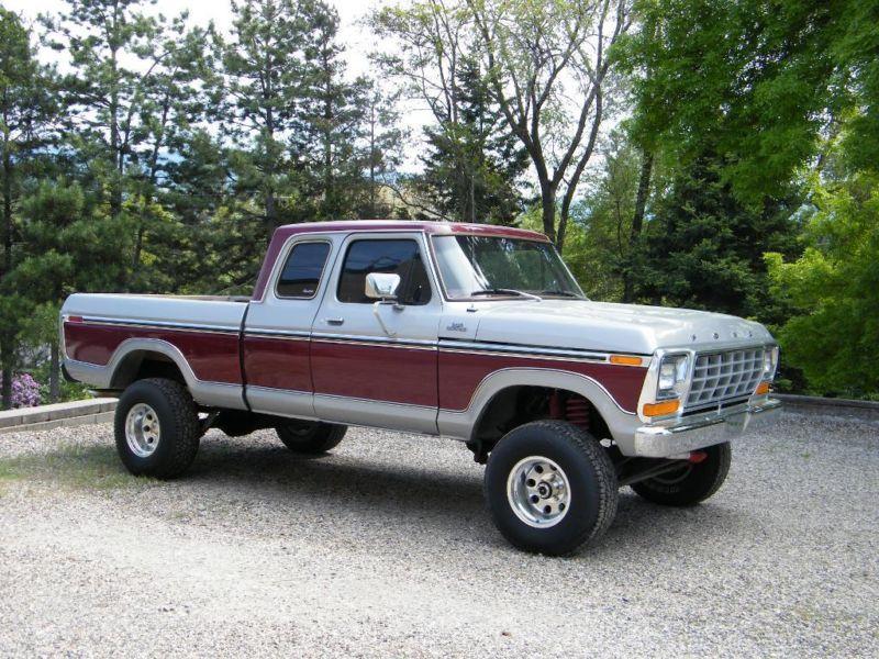 1979 ford f150 super cab short box 4x4 the model ford never made old trucks pinterest. Black Bedroom Furniture Sets. Home Design Ideas