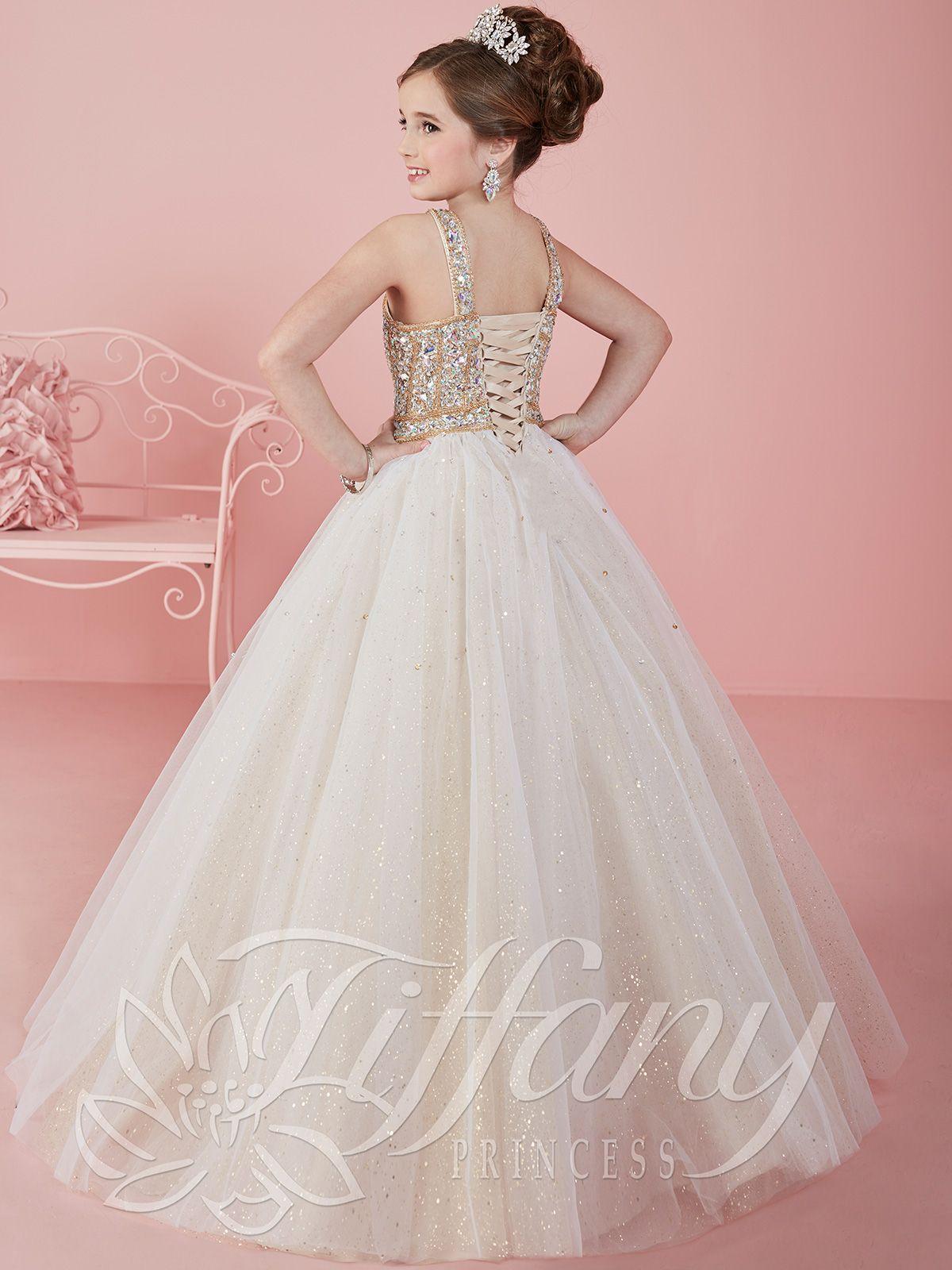 Tiffany Princess 13462 Scoop Neckline Pageant Dress | pageant ...