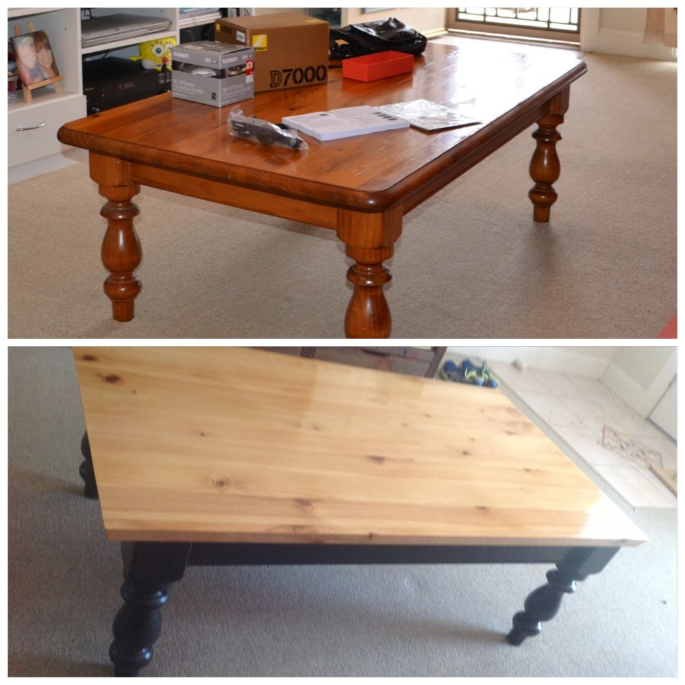 Coffee Table Diy Before After Craft Diy Projects Pinterest Furniture Refinishing