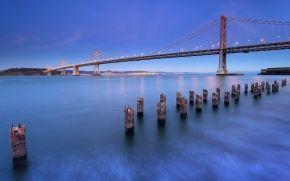 California, San Francisco,- Brücke