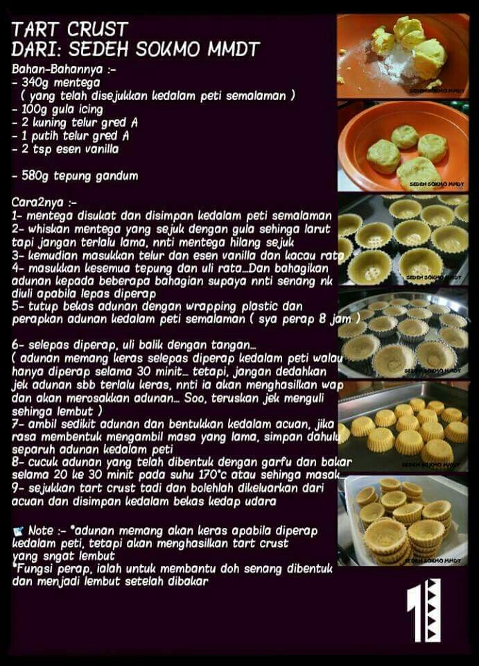 Tart Crust Recipes Egg Tart Food Recipies