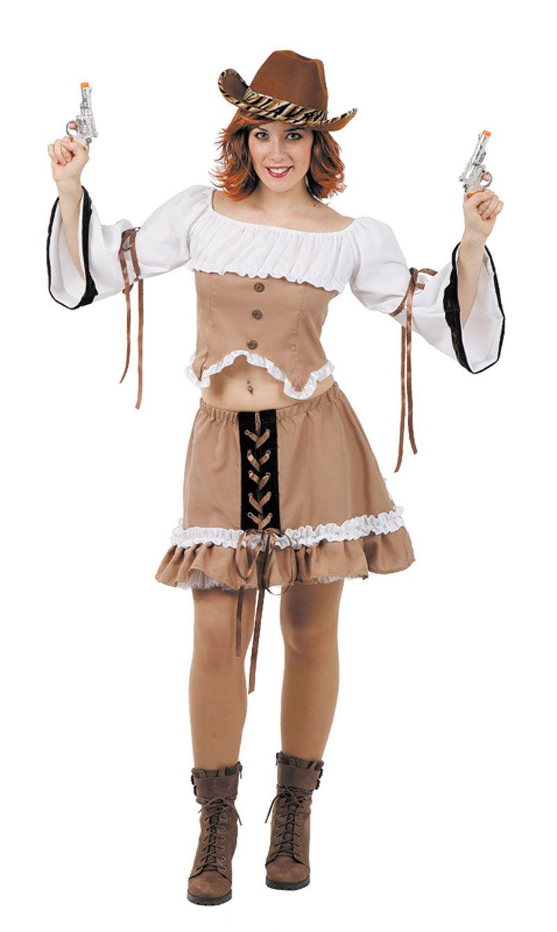 Disfraz de #vaquera #sexy para ser la pistolera más guapa ...