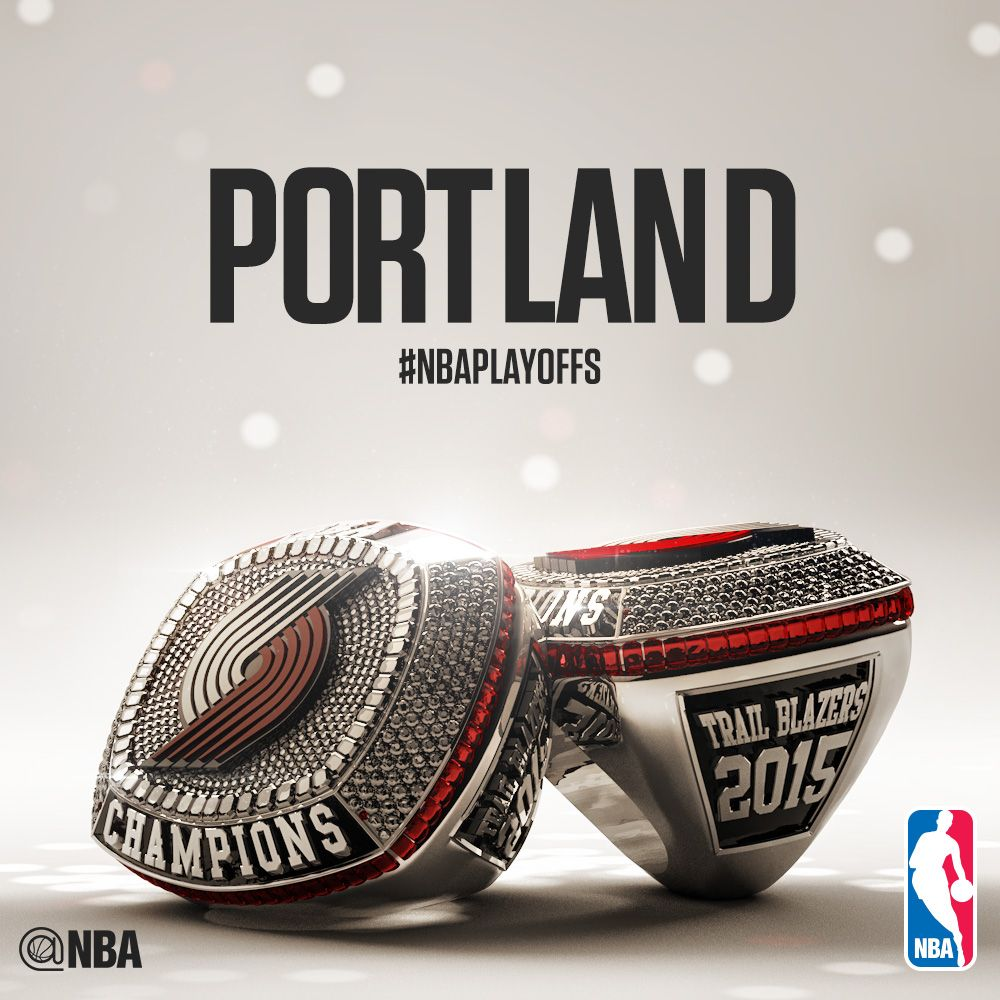 2015 NBA Champion @trailblazers' Has A Nice RING To It