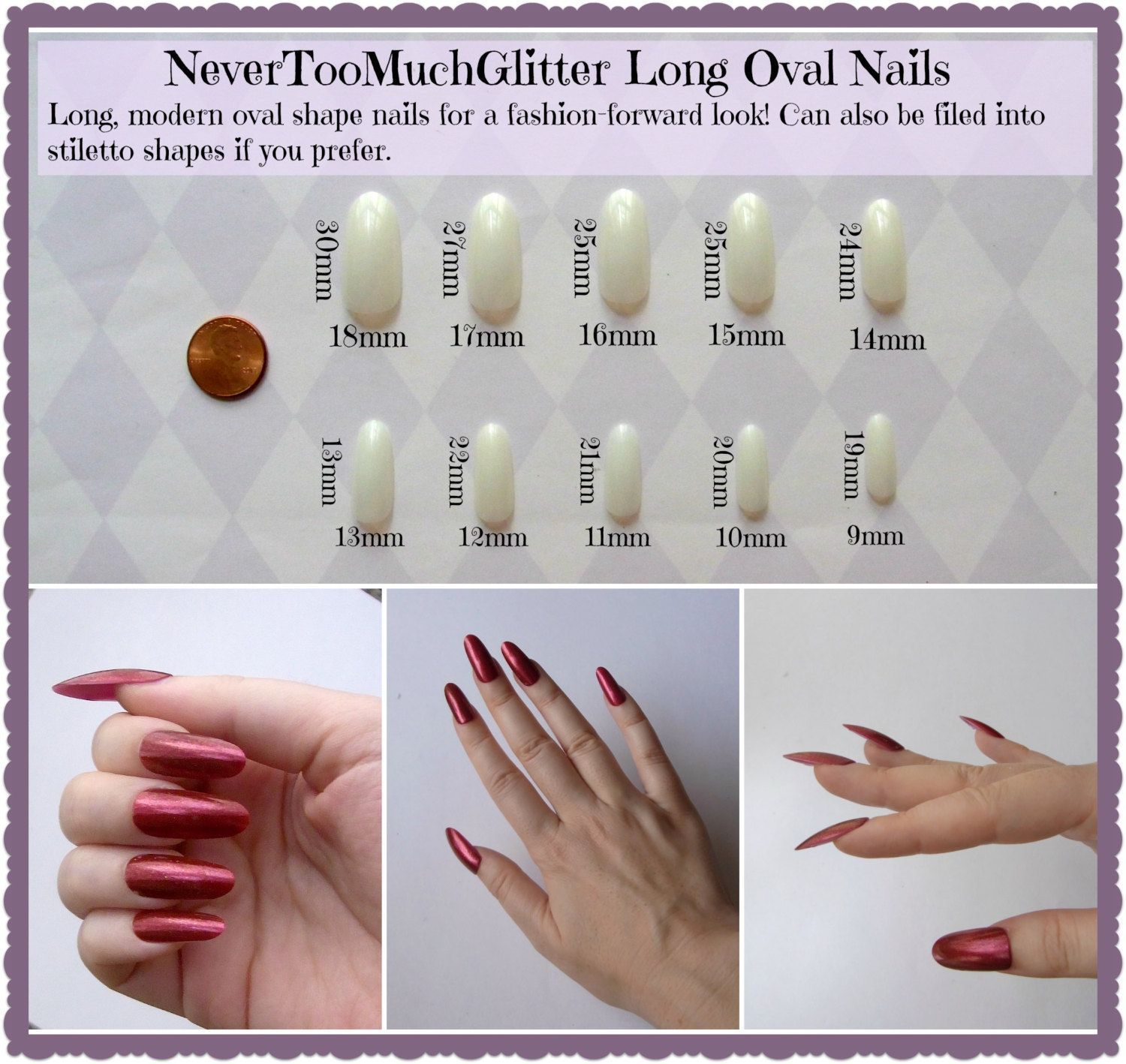 Different Acrylic Nail Lengths | Best Nail Designs 2018