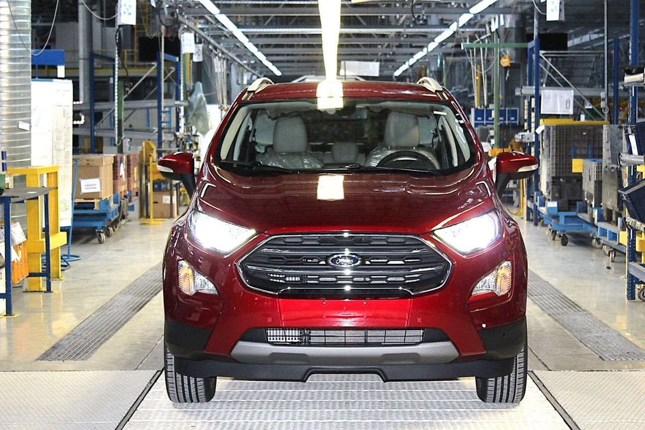 2018 Ford Ecosport European Production Shifts To Romania From