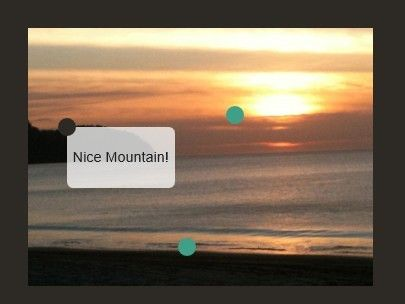 jQuery PicTip is a small jQuery plugin that allows you to add customizable handy tooltips to your images, slideshows, sliders and more.