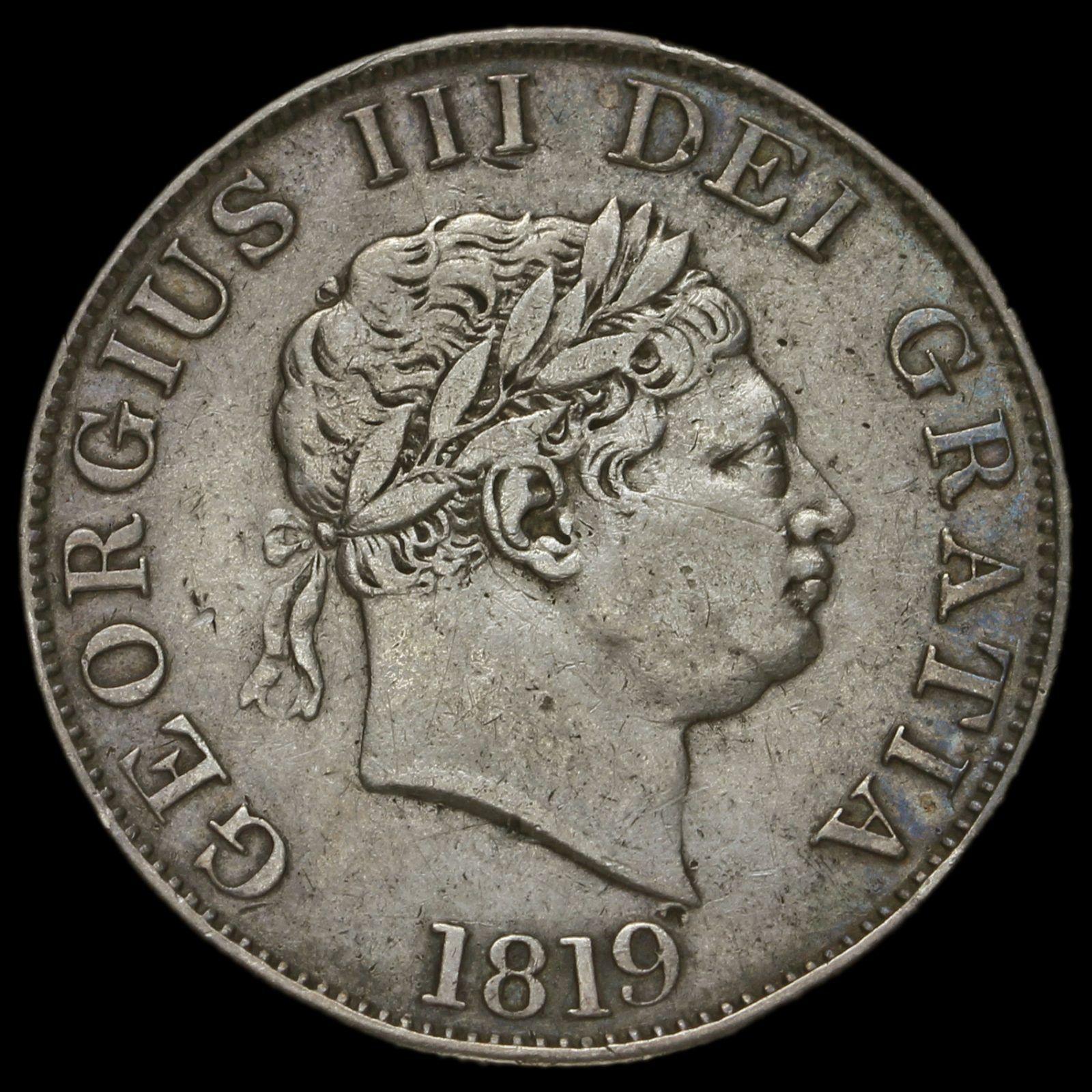1819 silver coin
