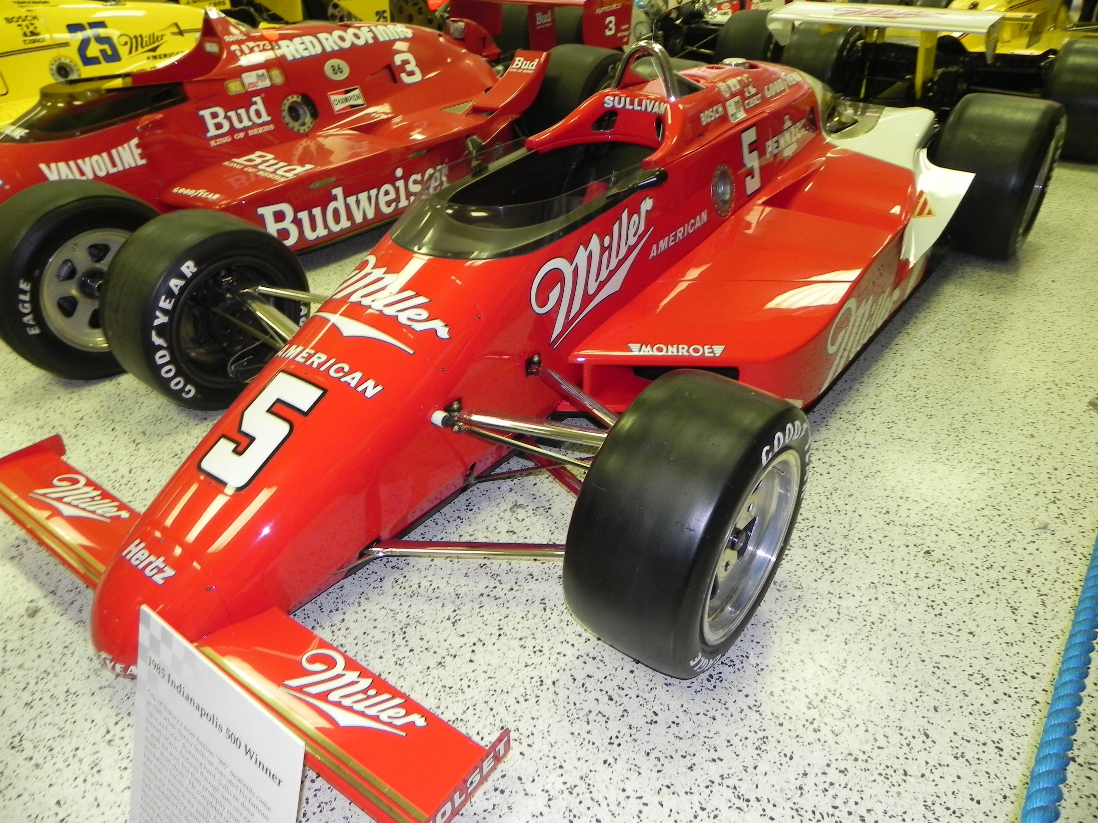 1985 indy 500 winner