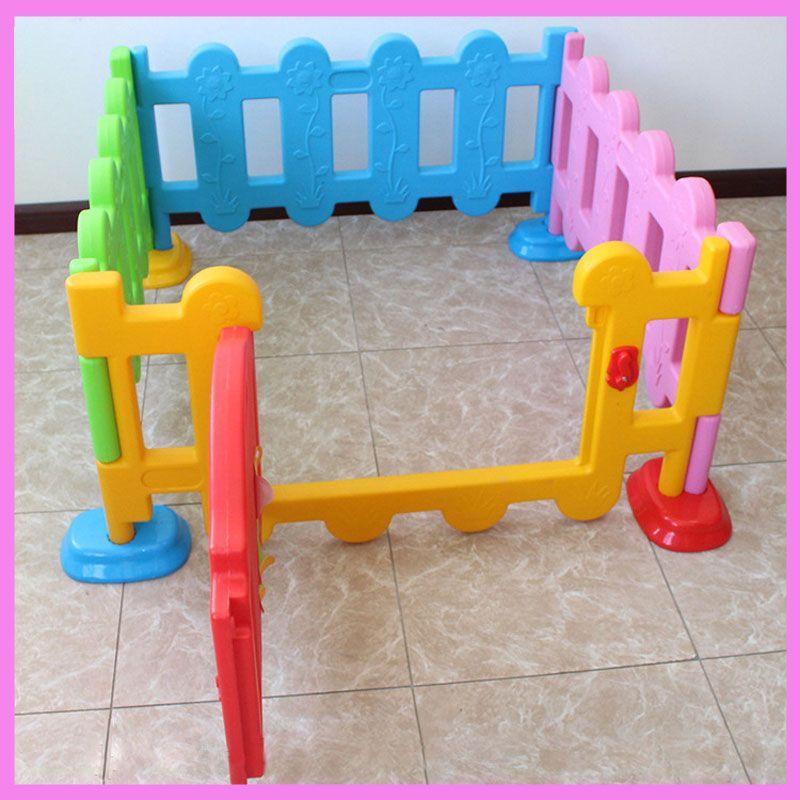 Best Price Folding Children Plastic Fence Baby Game Guardrail