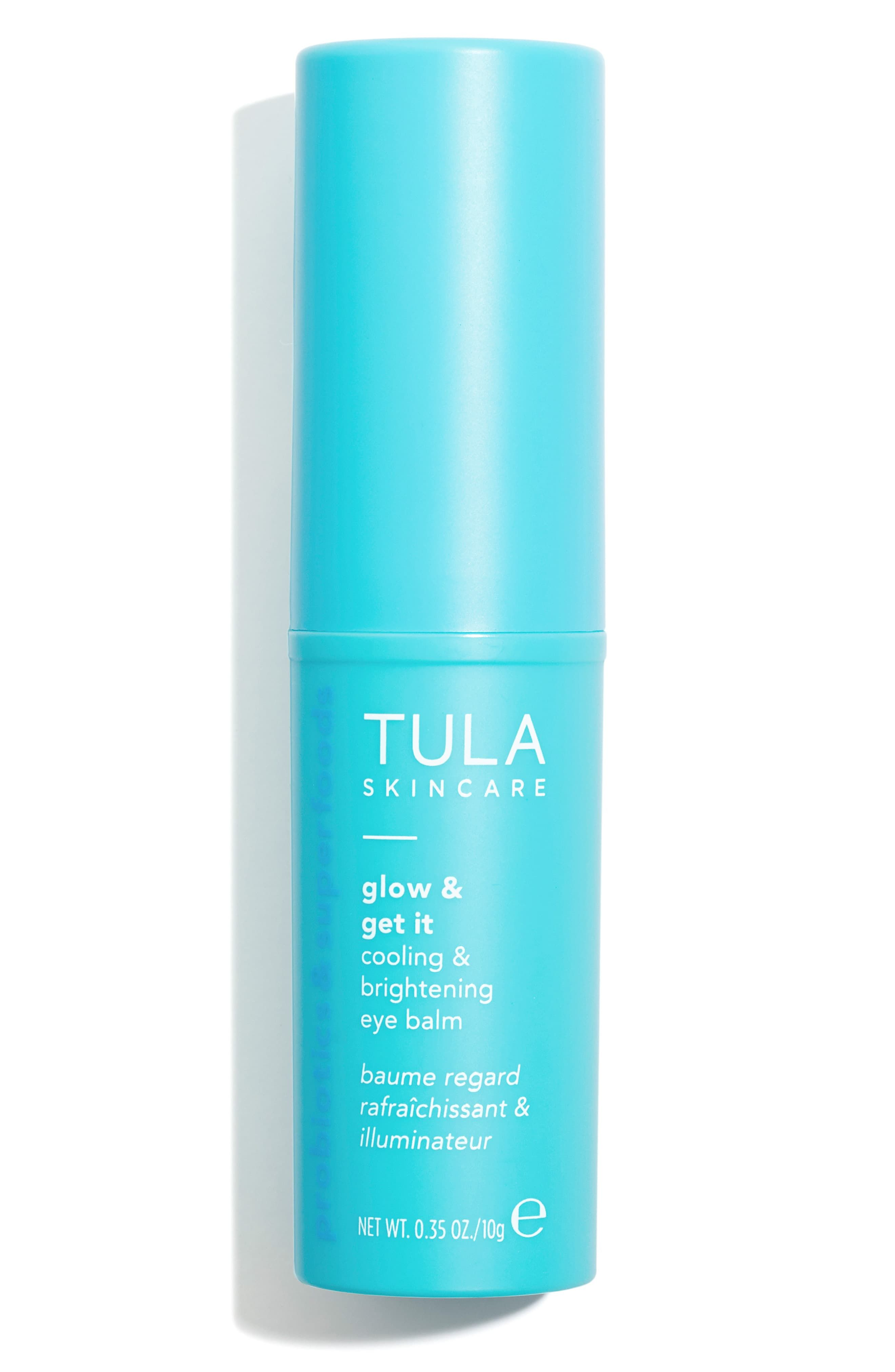 Tula Skincare Glow Get It Cooling Brightening Eye Balm Nordstrom In 2020 Glowing Skincare Tula Skincare The Balm