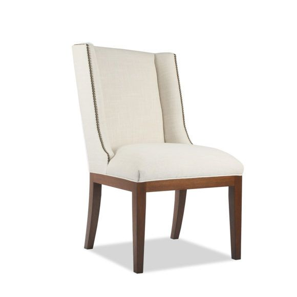 32 Stylish Dining Room Ideas To Impress Your Dinner Guests: Nadina Dining Chair With Nail Heads