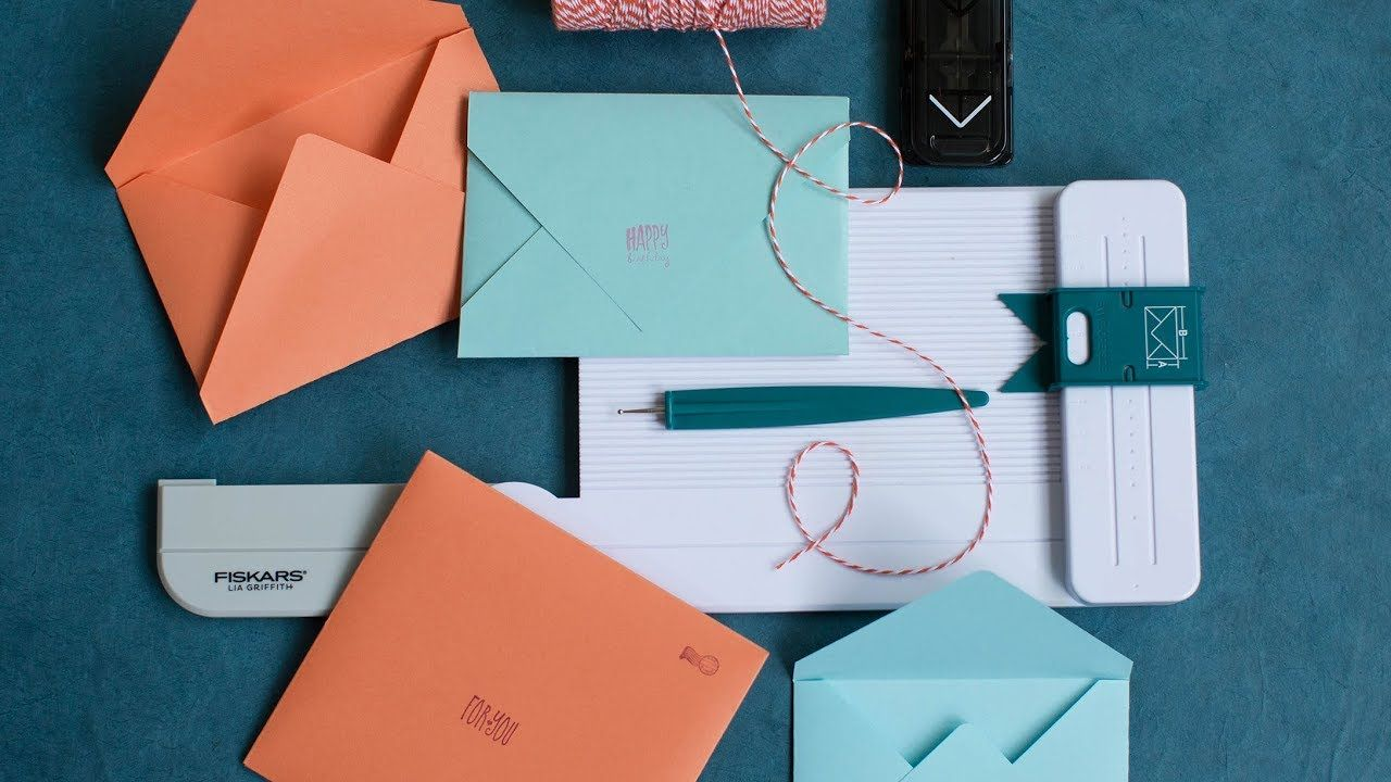 How to Use the Lia Griffith Envelope Maker YouTube
