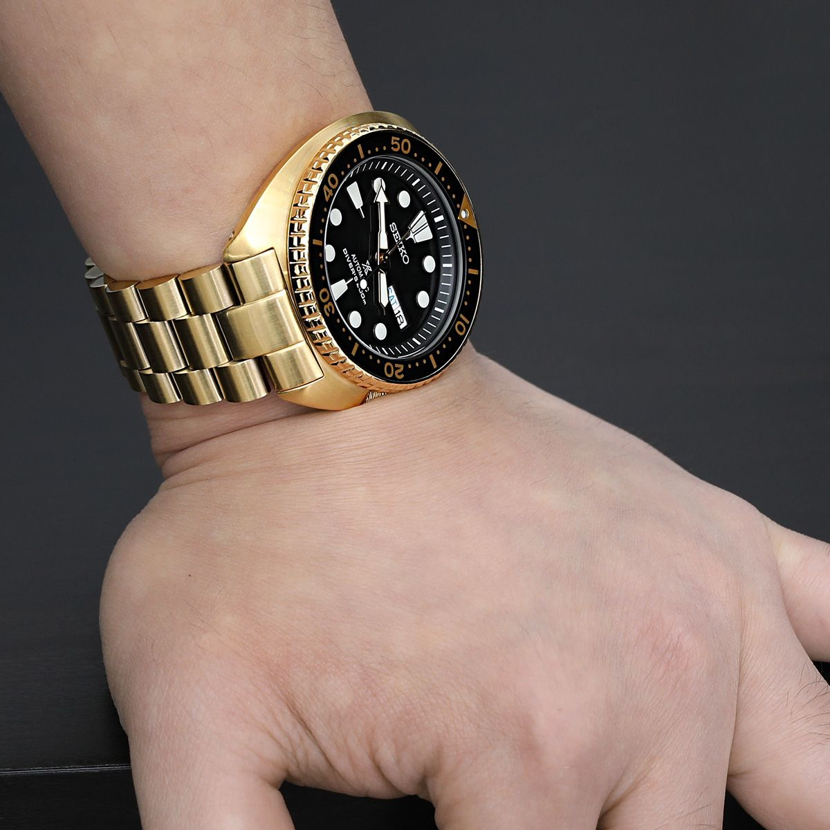 94d7fc40d8d Don t miss out or wait another couple weeks for us to restock!⌚ 22mm  Endmill 316L Stainless Steel Watch Bracelet for Seiko New Turtles SRP777