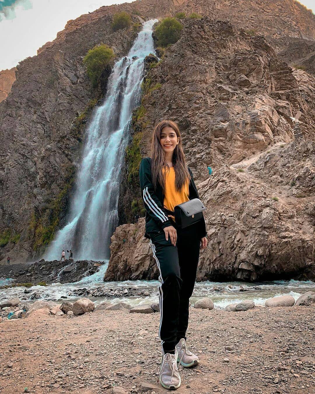 Throwback to Hiras Skardu trip. At Manthoka waterfall.🇵🇰