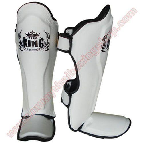 Top King Pro Shin Pads Muay thai MMA Kickboxing