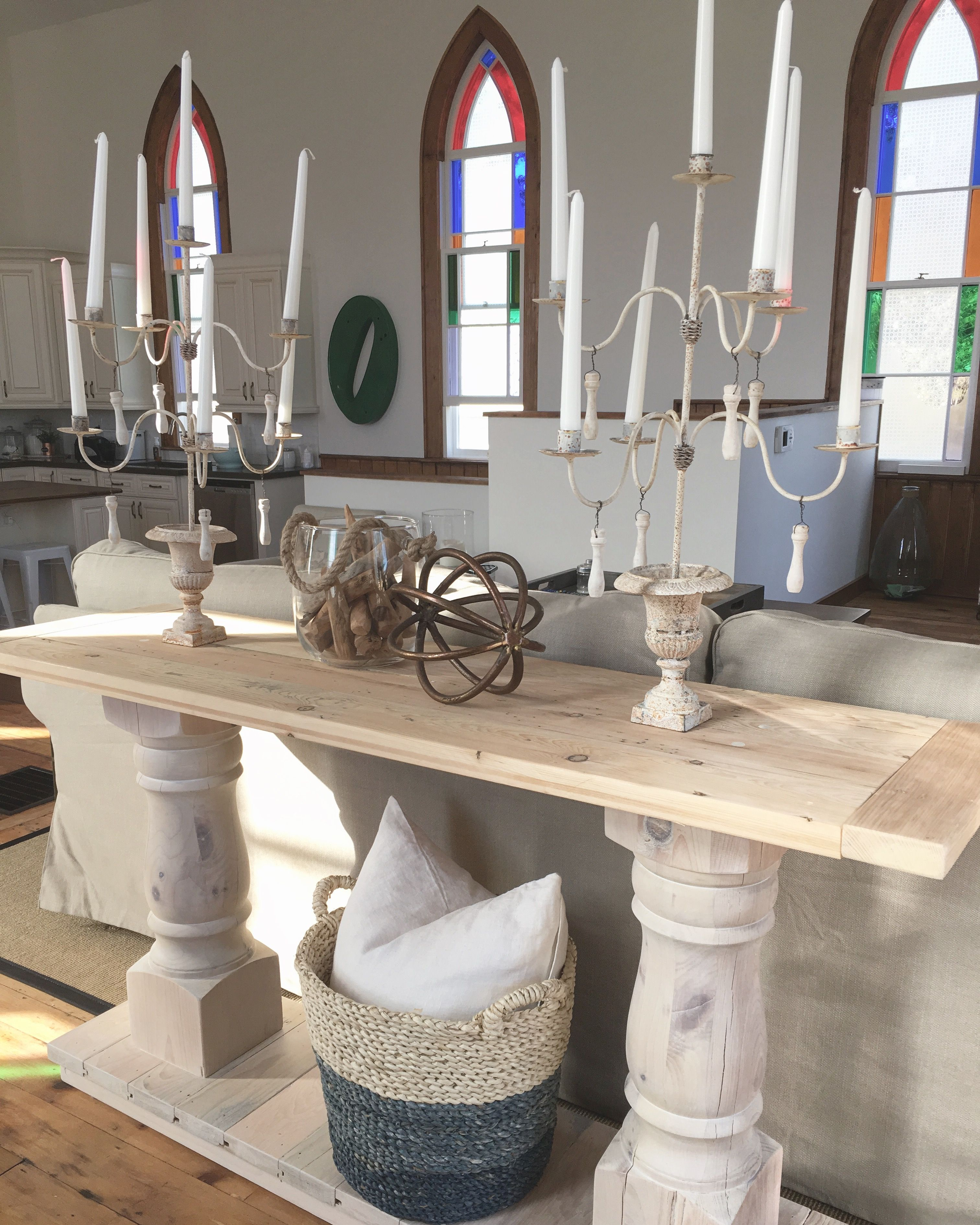 Reclaimed flooring console table flooring es from a 140 year