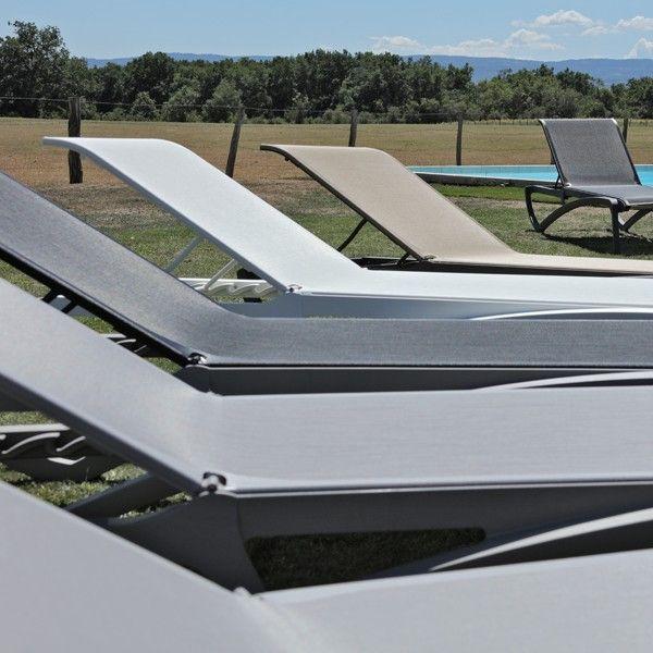 Chaises Longues Alize Chaise Longue Piscine Chaise Longue Jardin Transat Piscine