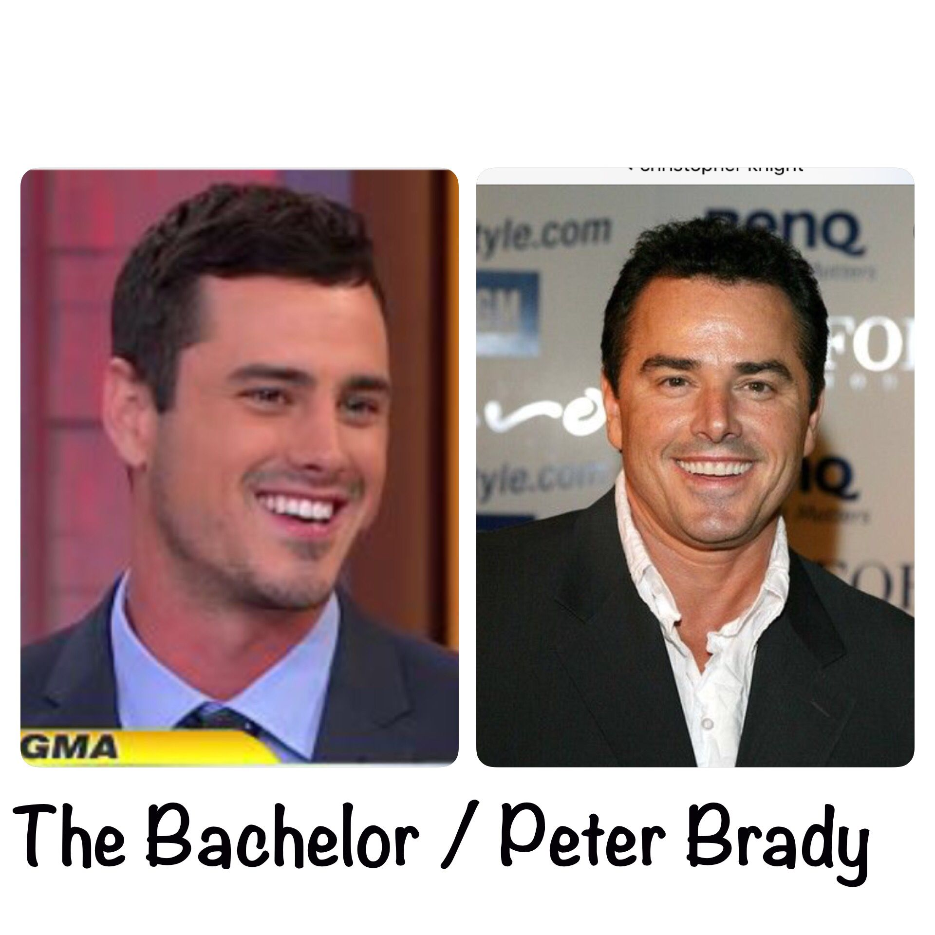 I'm convinced that Peter Brady is the Bachelor's father!
