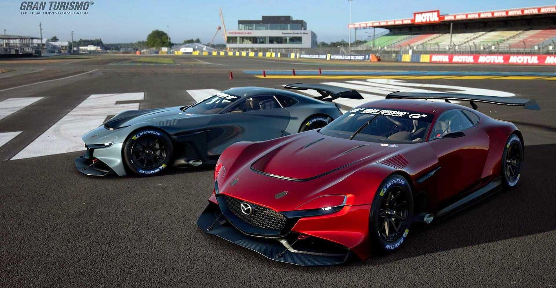 Το Mazda RXVision GT3 Concept μπαίνει στο Gran Turismo