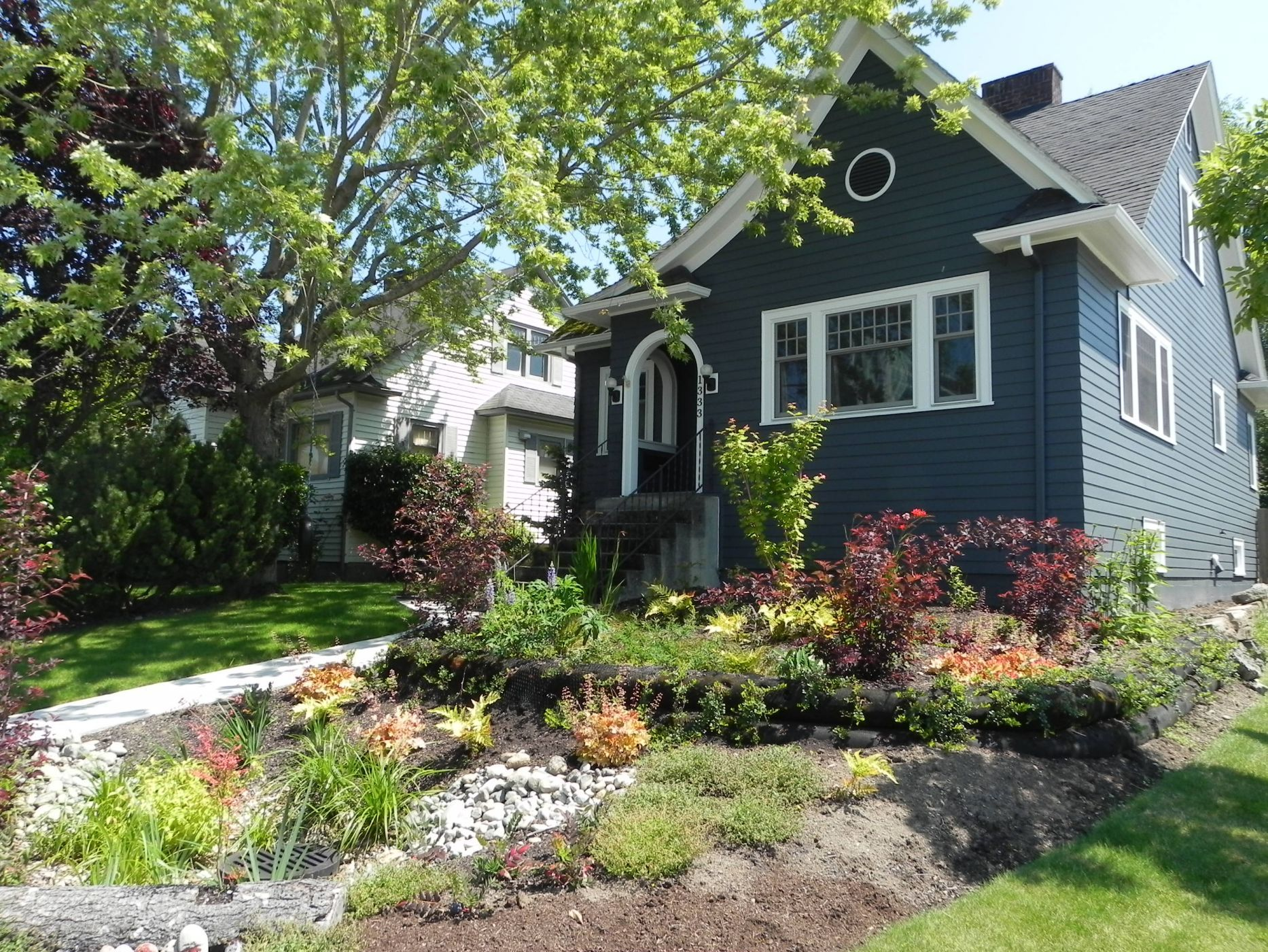 Landscape Designs · Great Placement For A Rain Garden! Click Through To  Learn More About Building One In