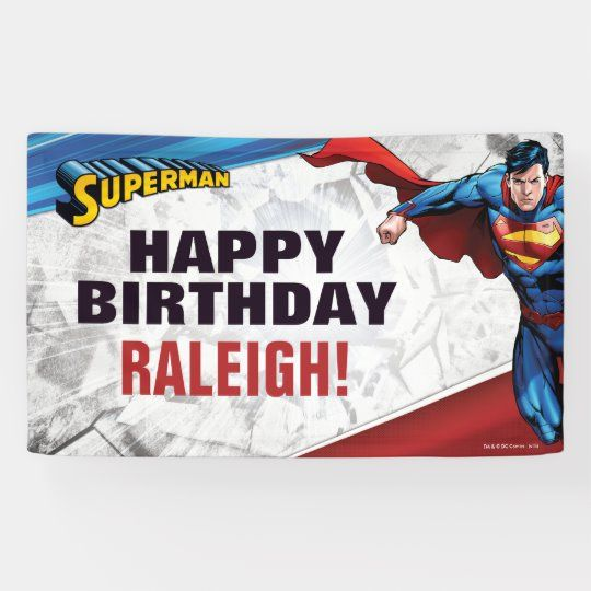 DC Comics   Superman - Birthday Banner    DC Comics   Superman - Birthday Banner