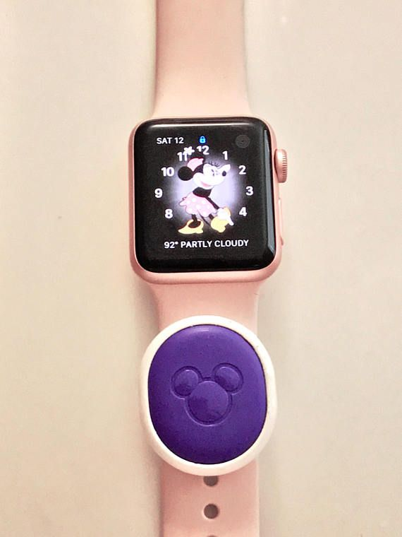 e1aadd3bd This keeper slider is designed to hold a Walt Disney World Magic Band 2  Puck on a wristband