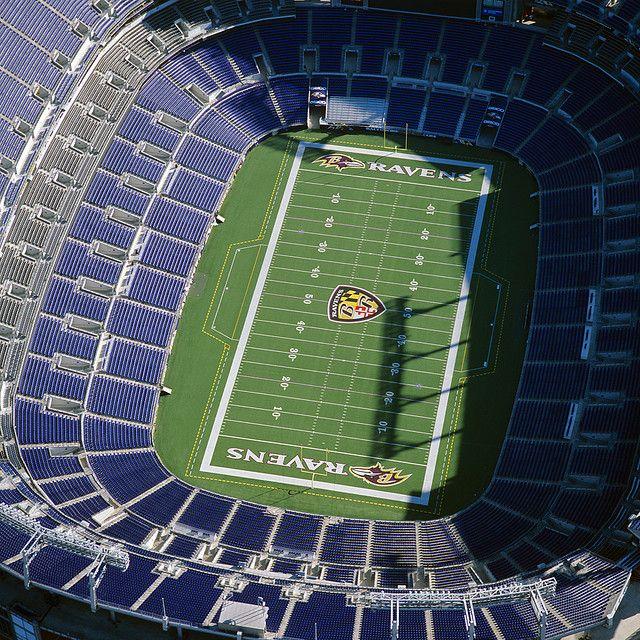 M T Bank Stadium M T Bank Stadium Baltimore Ravens Baltimore Ravens Football