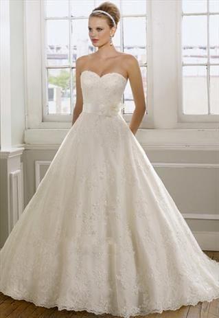Mori Lee Lace Sweetheart Wedding Dress #ShopSimple | Dressilyme ...