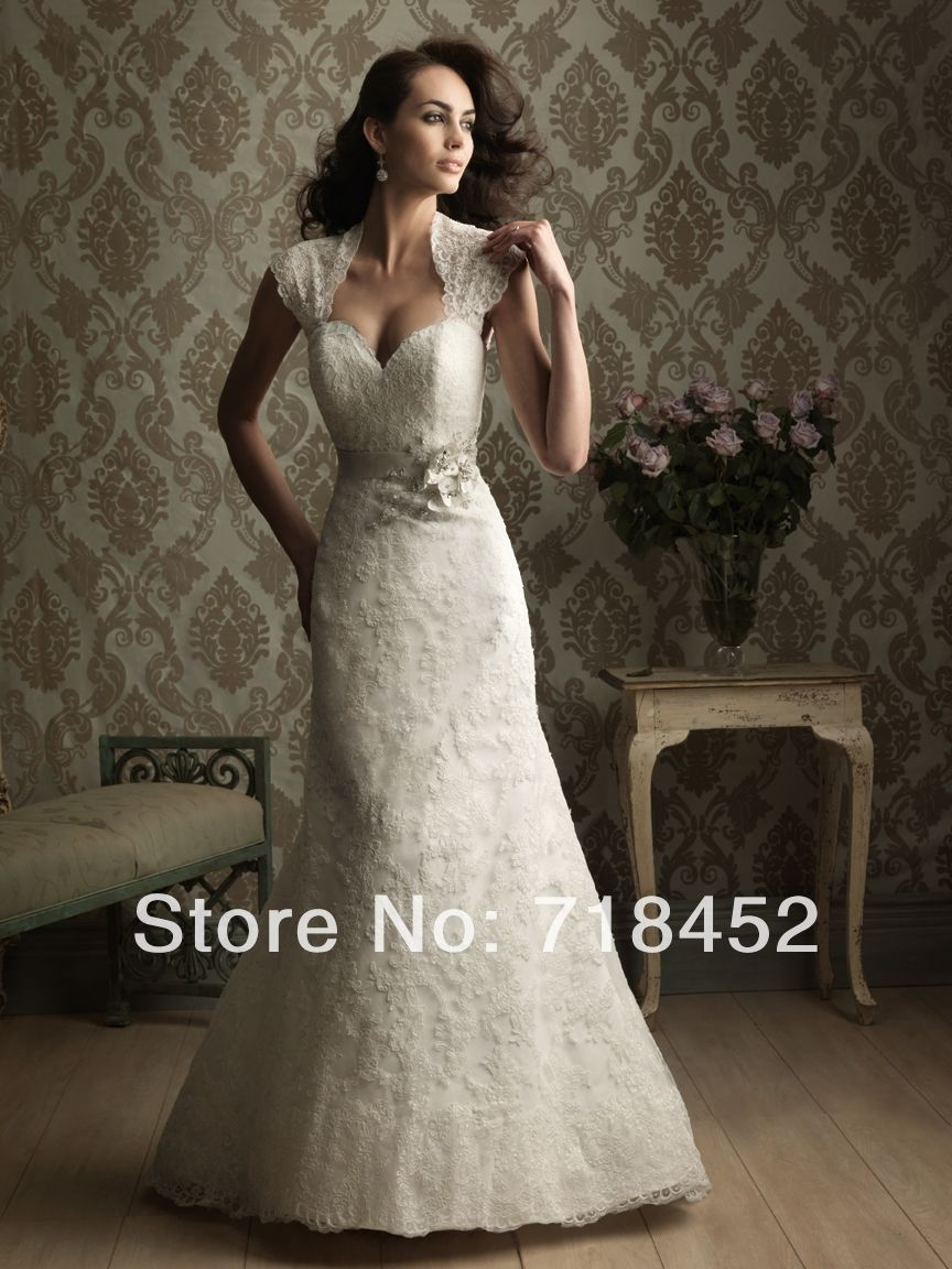 Country lace wedding dress with boots  Click to Buy ucuc  Country Western Wedding Dresses Lace Bridal