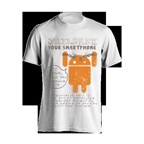 Kaos Android Lengan Panjang dari tees.co.id Hoodie, Kaos