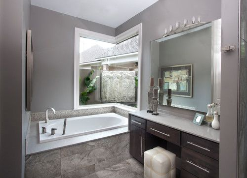 gray and brown bathroom color ideas. 20 Refined Gray Bathroom Ideas Design and Remodel Pictures  Grey