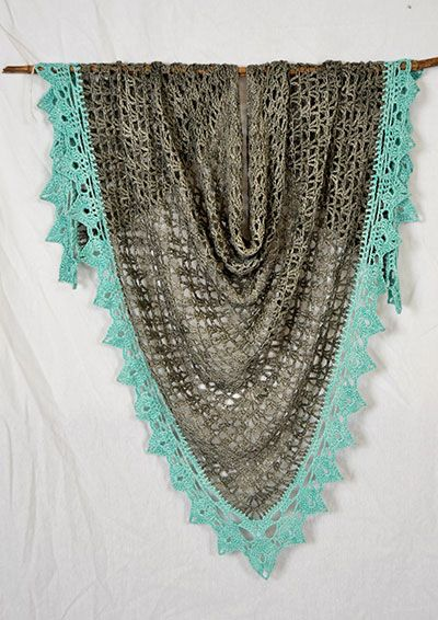 P 60 A Day At The Beach Shawl Free Crochet Pdf Pattern At Vinnis