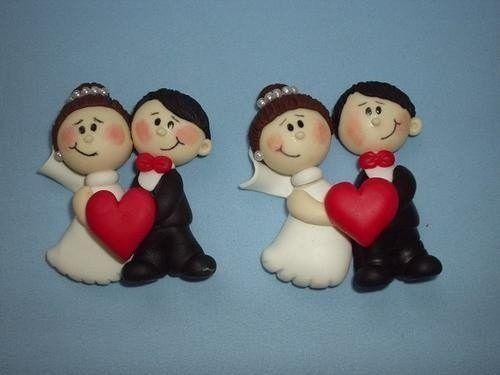 lembranças de casamento biscuit passarinho - Pesquisa Google