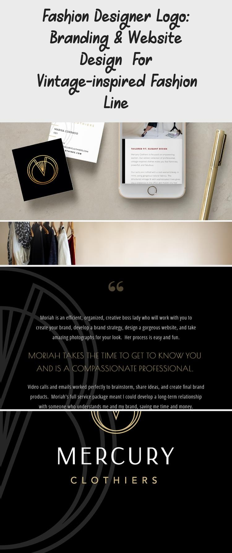 Branding For A Fashion Designer Check Out The All New Logo Branding And Custom Showit Website In 2020 Brand Strategy Design Branding Website Design Website Branding