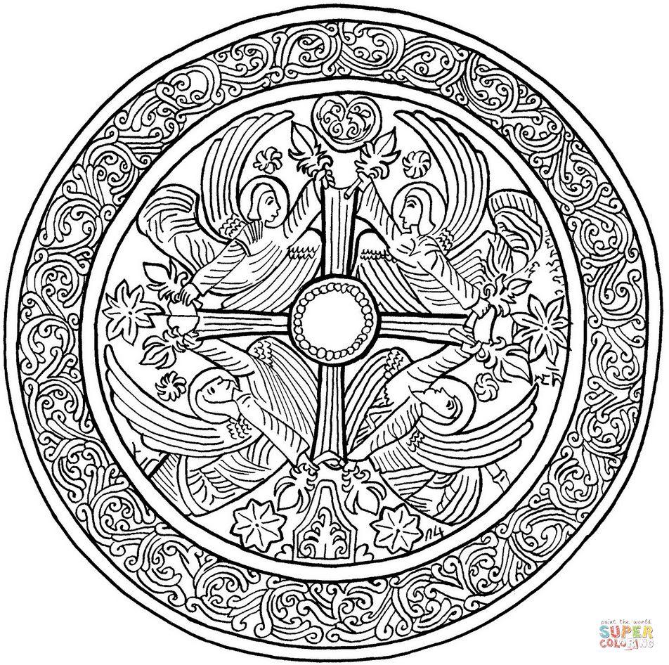 mandala engel malvorlagen  amorphi