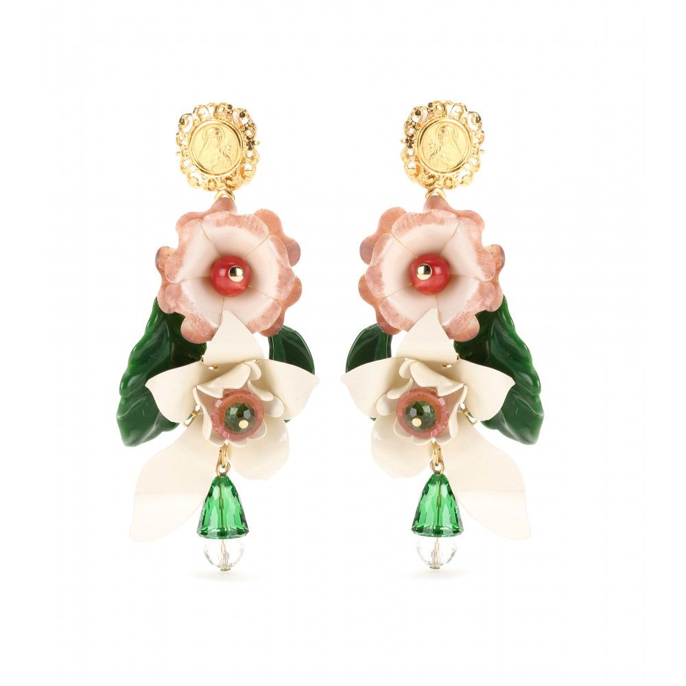 Clip-Ohrringe Fiori ◊ Dolce & Gabbana ♦ mytheresa.com