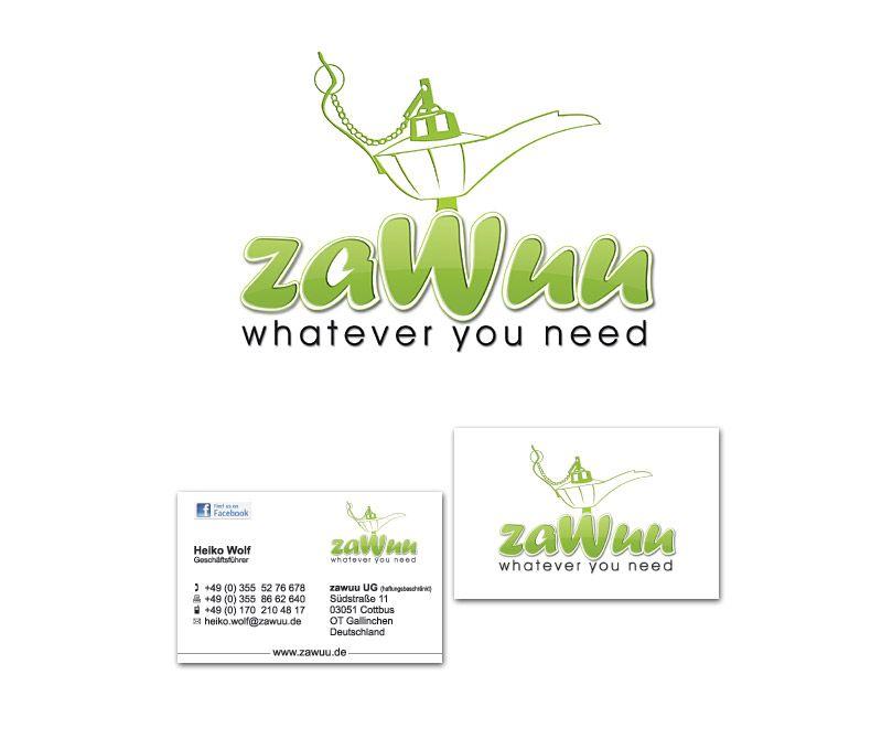 Logoentwicklung Und Visitenkarte Für Zawuu Betreiber Von