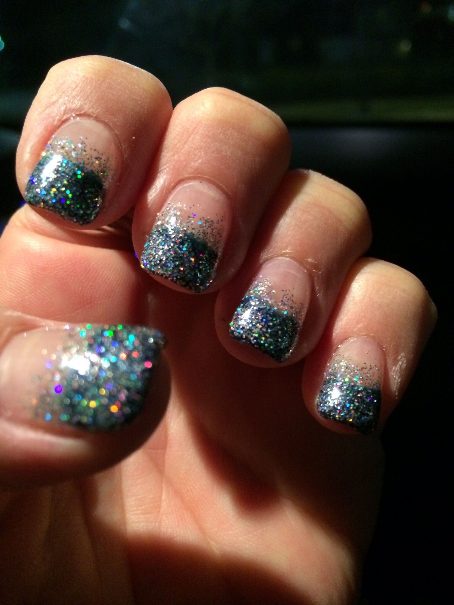 New Years Look! Nails, Gel nails, New years look