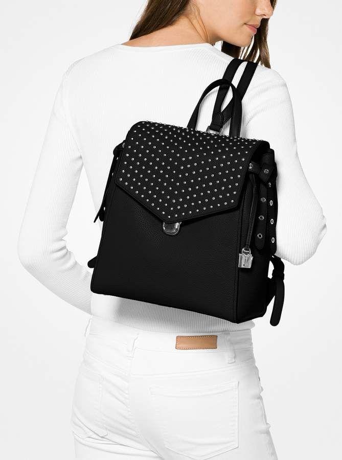 27ebab85e276e MICHAEL Michael Kors Bristol Medium Studded Leather Backpack ...