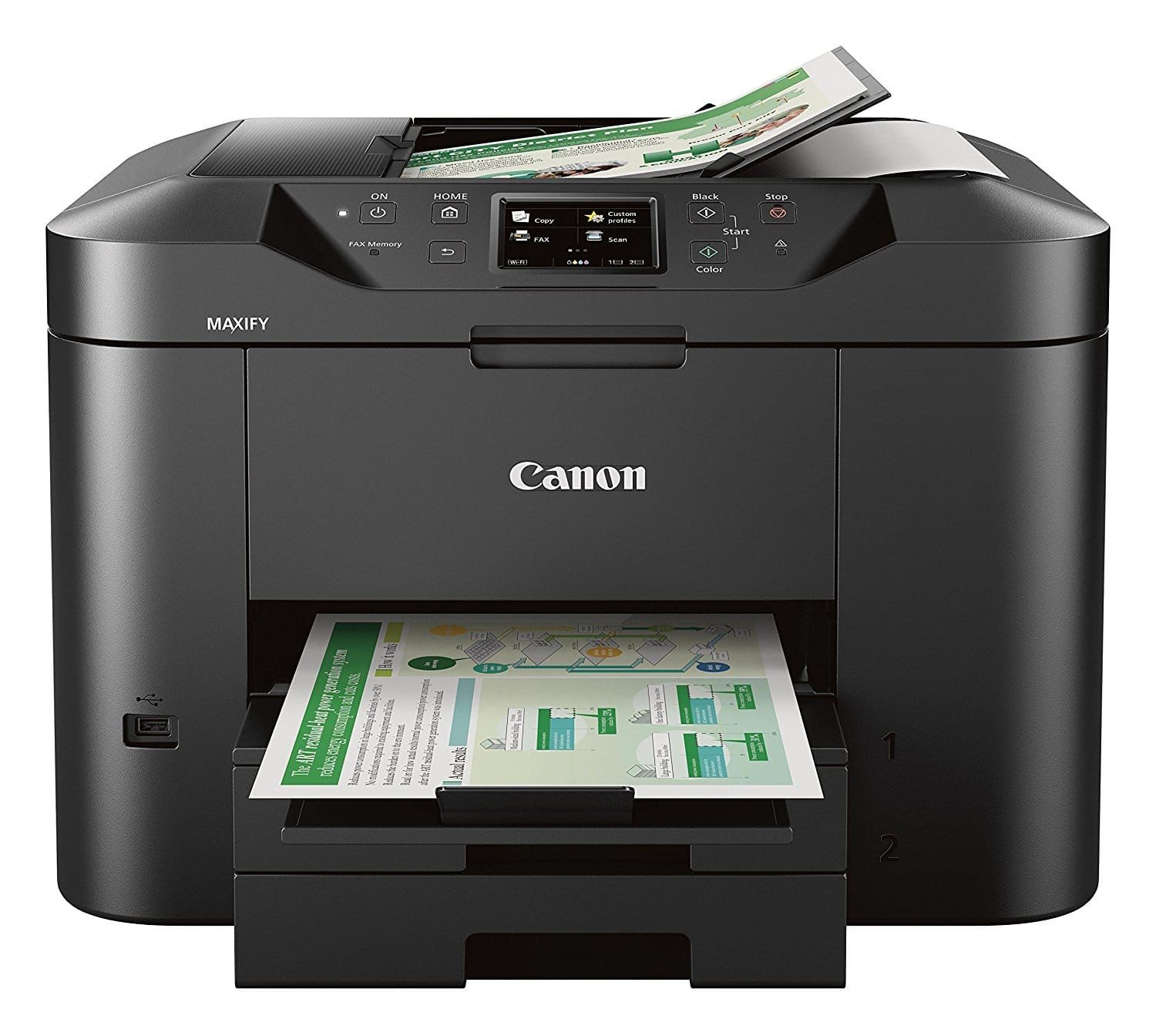 Top 10 Best Wireless Fax Machines In 2020 Hqreview Multifunction Printer Printer Driver Laser Printer