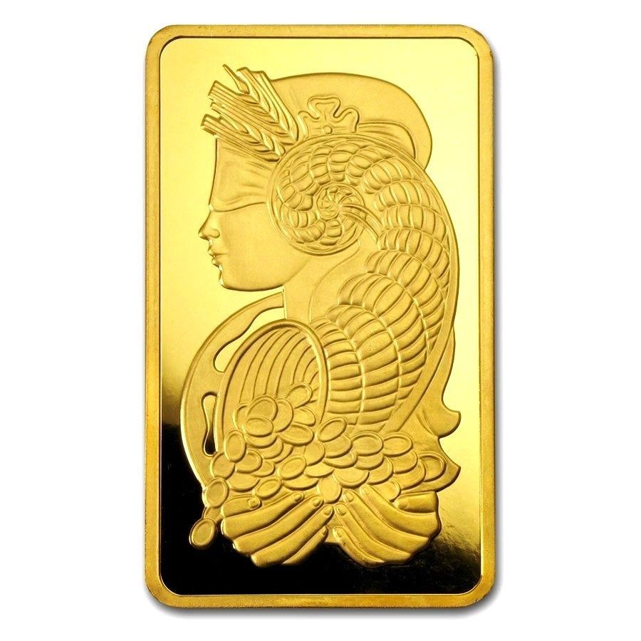 1 Gram Pamp Lady Fortuna Gold Bar 9999 Pure Solid Element Card Bullion Case