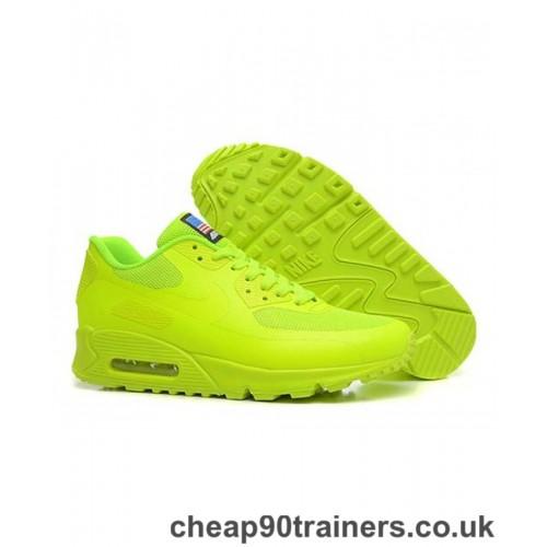 air max 90 verde fluorescente