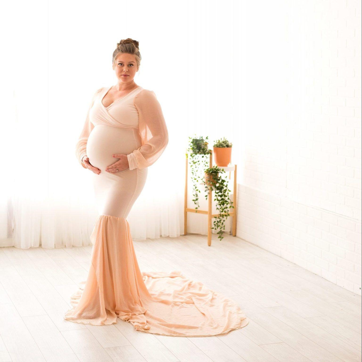 Jersey chiffon Maternity bodysuitMaternity dress for Photo shootmaternity onesieBodysuitburgundy dressmaternity setmaternity skirt